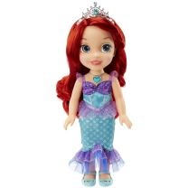 """Disney Princess Ariel Doll The Little Mermaid Sing & Shimmer Toddler Doll, Princess Ariel Sings """"Part of Your World"""" When You Press Her Jeweled Necklace [Amazon Exclusive]"""