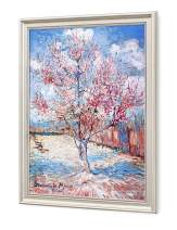 DECORARTS - Reminiscence of Mauve. Vincent Van Gogh Reproductions. Giclee Print for Wall Decor. Pic Size: 16x20 Framed Size: 19x23