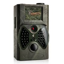 Trail Game Camera with Night Vision – 1080P FHD 12MP Camera with Unique External LCD Screen, 20m/65ft Motion Activated, Waterproof Deer Camera for Hunting and Home Security