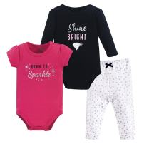 Hudson Baby Long Sleeve Bodysuit, Bodysuit and Pant