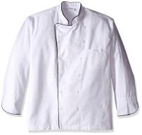 Dickies Chef Executive Coat with Stain Repellent with Piping