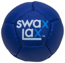 SWAX LAX Lacrosse Training Ball - Same Size & Weight as Regulation Lacrosse Ball but Soft - Indoor Outdoor Practice Ball with Less Bounce & Reduced Rebounds