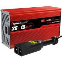 "FORM 18 AMP EZGO TXT Battery Charger for 36 Volt Golf Carts -""D"" style plug"