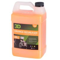 3D Orange Degreaser Citrus Cleaner - 1 Gallon   Safe, Green and Organic Multi-Use Cleaner for Interior & Exterior Use   Removes Grease & Grime   Made in USA   All Natural   No Harmful Chemicals
