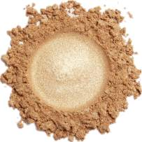 Mineral Make Up (Gold Shimmer) Eye Shadow, Shimmer Eyeshadow, Loose Powder, Glitter Eyeshadow, Organic Makeup, Eye Makeup, Natural Makeup, Organic Eyeshadow, Natural Eyeshadow, Professional Makeup