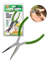 Lawn Jaws The Original Sharktooth Weed Puller Remover Weeding & Gardening Tool Weeder - Pull from The Root Easily!- Great Gardening