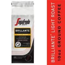 Segafredo Zanetti Tempo Blend Ground Coffee, Brillante Light Roast – 10 Oz Bag – Made with 100% Arabica Coffee, Bright and Strong Flavor
