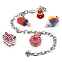 CHARM IT! Charm Bracelet Set - for Toddlers Girls Perfect 6 Year Old Girl Gifts to 12 Year Old Girl Gifts (Unicorn, Rainbow, Friends, Sweets, or Tech)