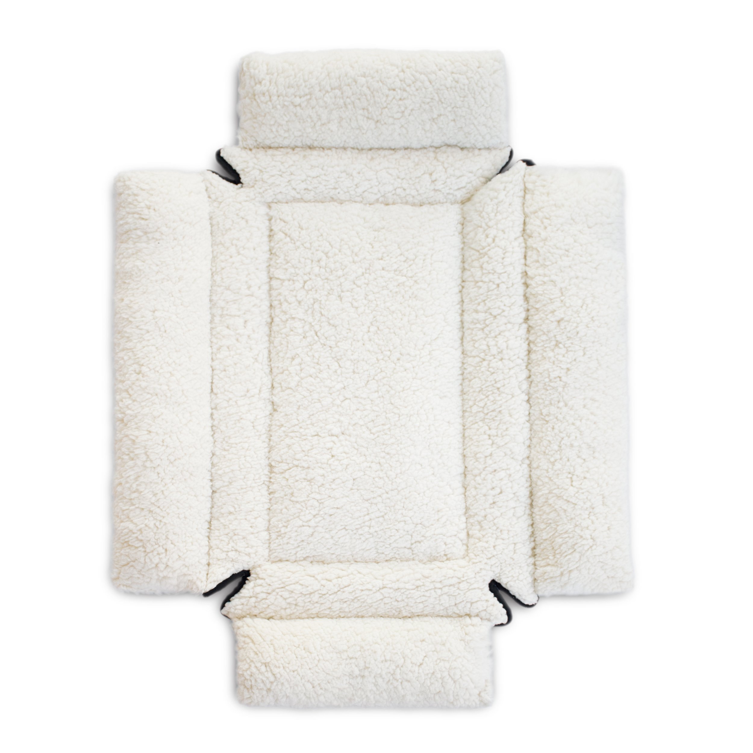 """K&H Pet Products Deluxe Bolster Crate Pad X-Small Natural 14"""" X 22"""""""