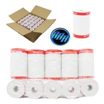 Coreless 2 1/4 x 55 Thermal Paper Rolls verifone vx520 Clover Flex Mini and Mobile vx520 ixt250 ingenico ict220 Thermal Credit Card Machine Paper - veeder Root Thermal Paper - BuyRegisterRolls