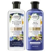 Herbal Essences, Volume Shampoo & Conditioner Kit With Natural Source Ingredients, For Fine Hair, Color Safe, BioRenew Micellar Water & Blue Ginger, 13.5 fl oz, Kit