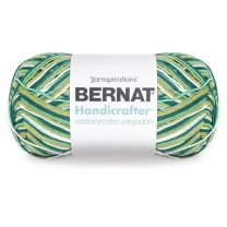Bernat Handicrafter Cotton Yarn, Gauge 4 Medium Worsted, June Bug