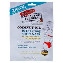Palmer's Coconut Oil Formula Body Firming Sheet Mask   0.84 Ounce (Pack of 2)