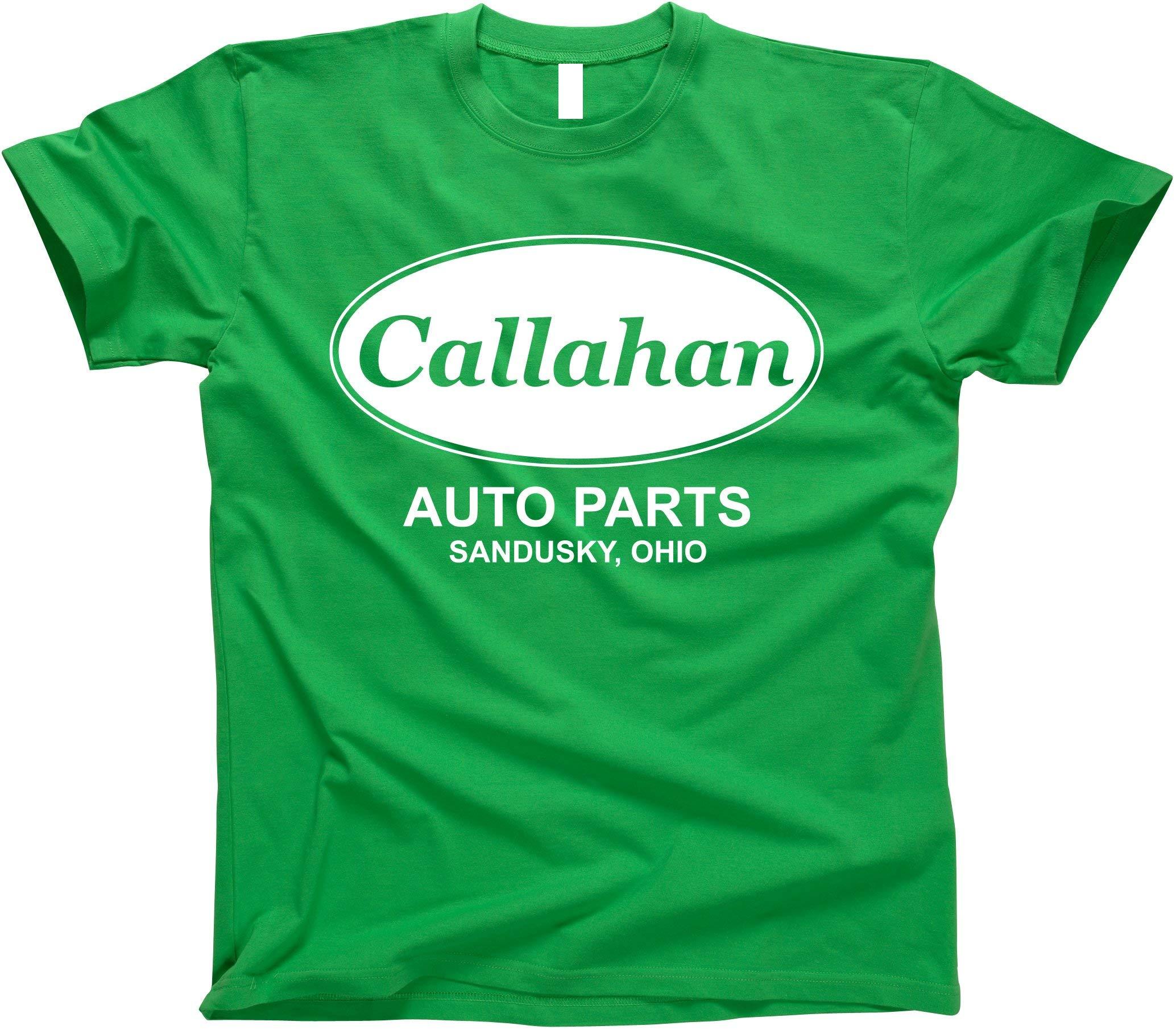 GunShowTees Men's Callahan Auto Parts Shirt