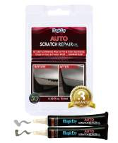 MagicEzy Auto Scratch Repairezy: (Silver Metallic Kit) - Repair Car Paint Chips in Seconds - Precise Color Match - Touch-Up Filler – No Messy Drips