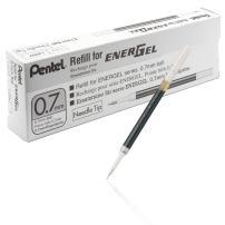 Pentel Refill Ink for EnerGel 0.7mm Needle Tip Liquid Gel Pen, Pack of 12, Blue Ink (LRN7-C-12)