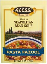 Alessi Pasta Fazool Soup, 6-Ounce Packages (Pack of 6)