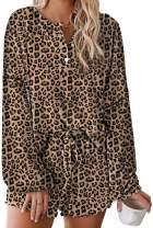 Ru Sweet Women's Pajama Sets Long Sleeve Tee and Pants Loungewear Nightwear Sleepwear