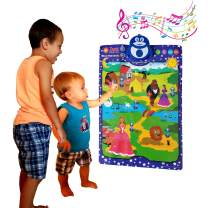 Story Telling Toy with 5 Fairy Tales, 10 Discussion Questions to Each Story and 3 Soothing Lullabies. Three Little Pigs, Beauty and the Beast, The Ugly Duckling, Cinderella, The Lion and the Mouse