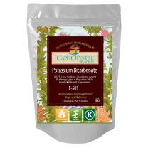 Potassium Bicarbonate USP Food Grade Crystalline Powder - Kosher Certified ( 2 Oz)