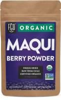 Organic Maqui Powder | 4oz Resealable Kraft Bag | 100% Raw From Chile | by FGO