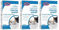 Urnex Cleancaf Coffee and Esspresso Machine Cleaning Powder - 3 Uses Per Box - Professional Espresso and Coffee Maker Cleaner