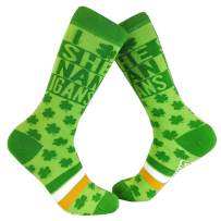 I Clover Shenanigans Socks Funny Saint St Patricks Day Irish Novelty Sarcastic
