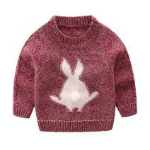 Mud Kingdom Little Boys Sweater Cute Rabbit Pullover