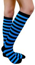 AM Landen Women Teens Knee High Tube Socks Mid-Calf Socks Costume Cosplay Socks Girls Novelty Socks Gift Socks