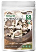 Approx 750 Premium Quality Moringa Seeds - Organic and PKM1 with Wings - from India - by Naturevibe Botanicals (Packaging May Vary)