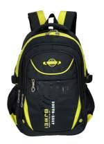 School Backpack For Boys Kids Elementary School Bags Bookbag Yellow