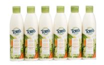 Tom's of Maine Natural Moisturizing Body Wash Soap with Moroccan Argan Oil, Orange Blossom, 12 Ounce, 6 Count