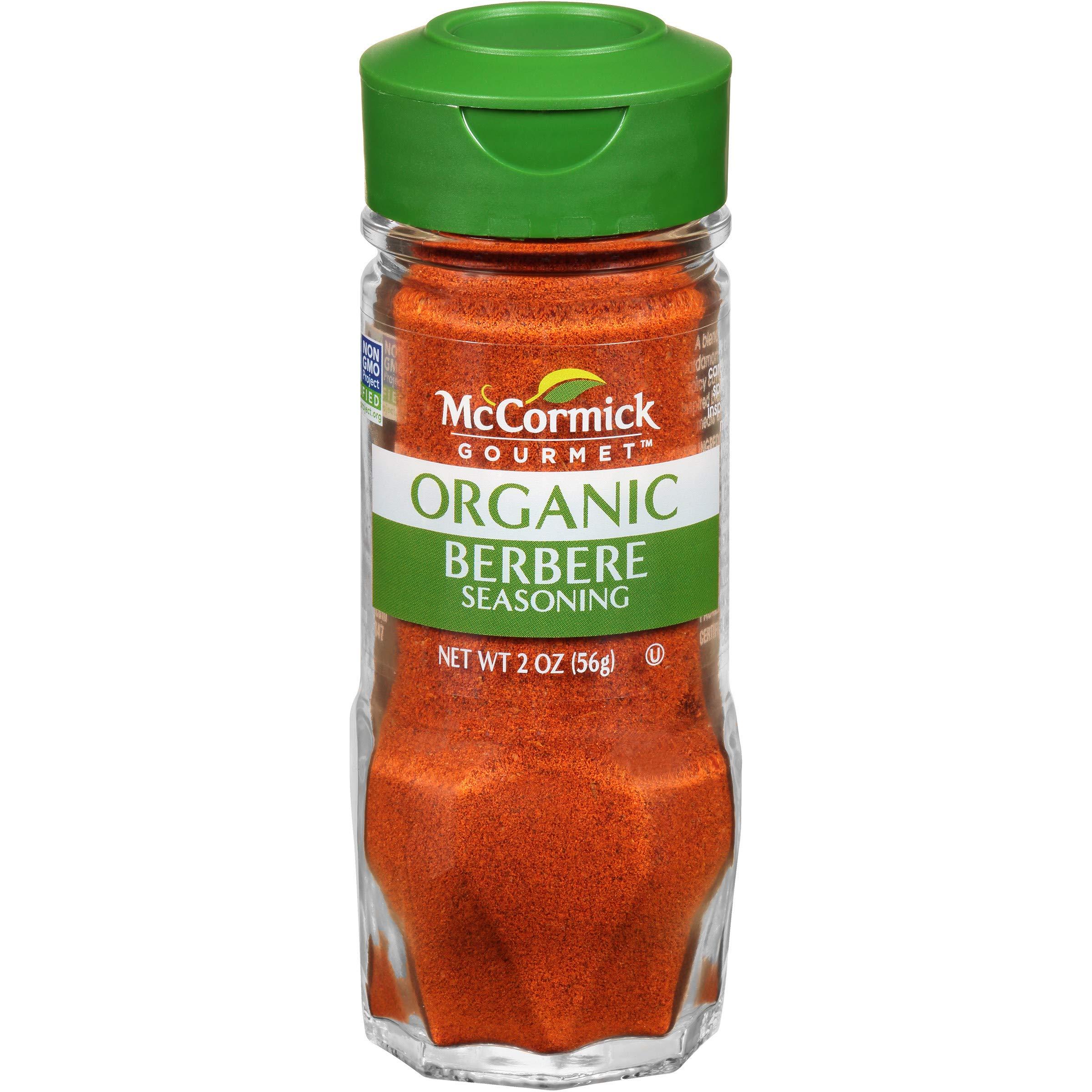 McCormick Gourmet Organic Berbere, 2 oz