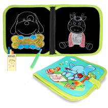 SLHFPX 2019 New Toys for 2-8 Year Old Girl,Doodle Chalk Book Early Educational Top Toy for 2-6 Year Old Toddlers Travel Gift Present for 2-6 Yrs Old Girl Boy Toy Age 2-7
