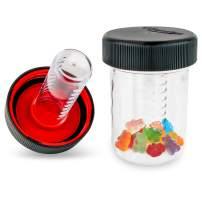 Masontops Jar Safe - Child Proof Herb Container - 2PK - Airtight Storage - Regular Mouth Jar Lock - Stash Bottle Locker