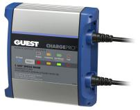 Guest 2708A ChargePro On-Board Battery Charger 5A / 12V, 1 Bank, 120V Input