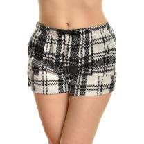 Angelina Women's Cozy Fleece Pajama Shorts with Free Mystery Tank TOP