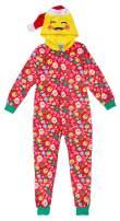 Sleep On It Girls Onesie Pajamas with Character Hood   Girls 3D Hooded Onesie Pajama Set