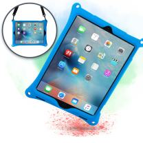 Cooper Bounce Strap Shoulder Strap Rugged Case for Apple iPad Pro 12.9 (1st & 2nd Generation) 2015/2017 Only | Multi-Functional Shock Proof, Hand Strap (Blue)