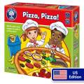 Orchard Toys Pizza, Pizza - Fun and Educational Colour and Shape Game - Perfect for Home Learning