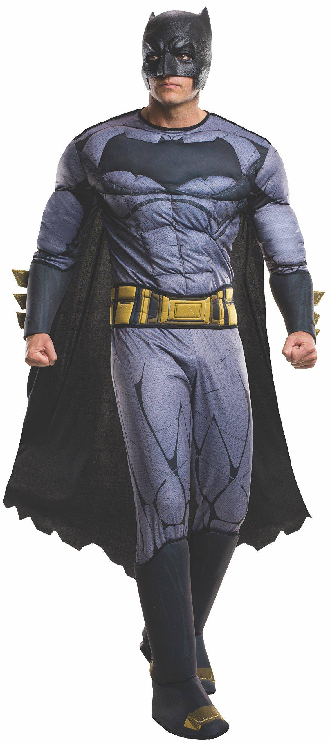 Adult Batman V Superman: Dawn of Justice- Deluxe Batman Costume