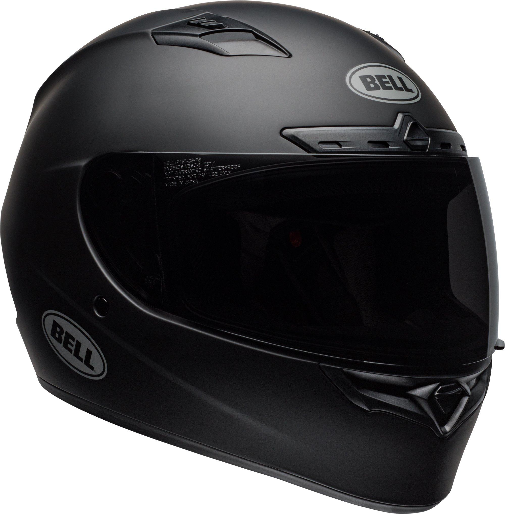 Bell Qualifier DLX MIPS Full-Face Motorcycle Helmet (Matte Black, Medium)