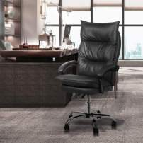 Magshion High-Back Faux Leather Ergonomic Heavy Duty Executive Swivel Office Desk Chair,