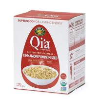 Nature's Path Qi'a Superfood Oatmeal, Cinnamon and Pumpkin Seed, Healthy, Organic & Gluten Free, 8 Pouches per Box, 8 Ounces (Pack of 6)