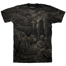 Kerusso Men's Calvary - All Over T-Shirt - Black -