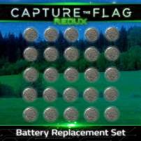 Starlux Games Complete Replacement Battery Set for Capture The Flag Redux or Starlight Swimming