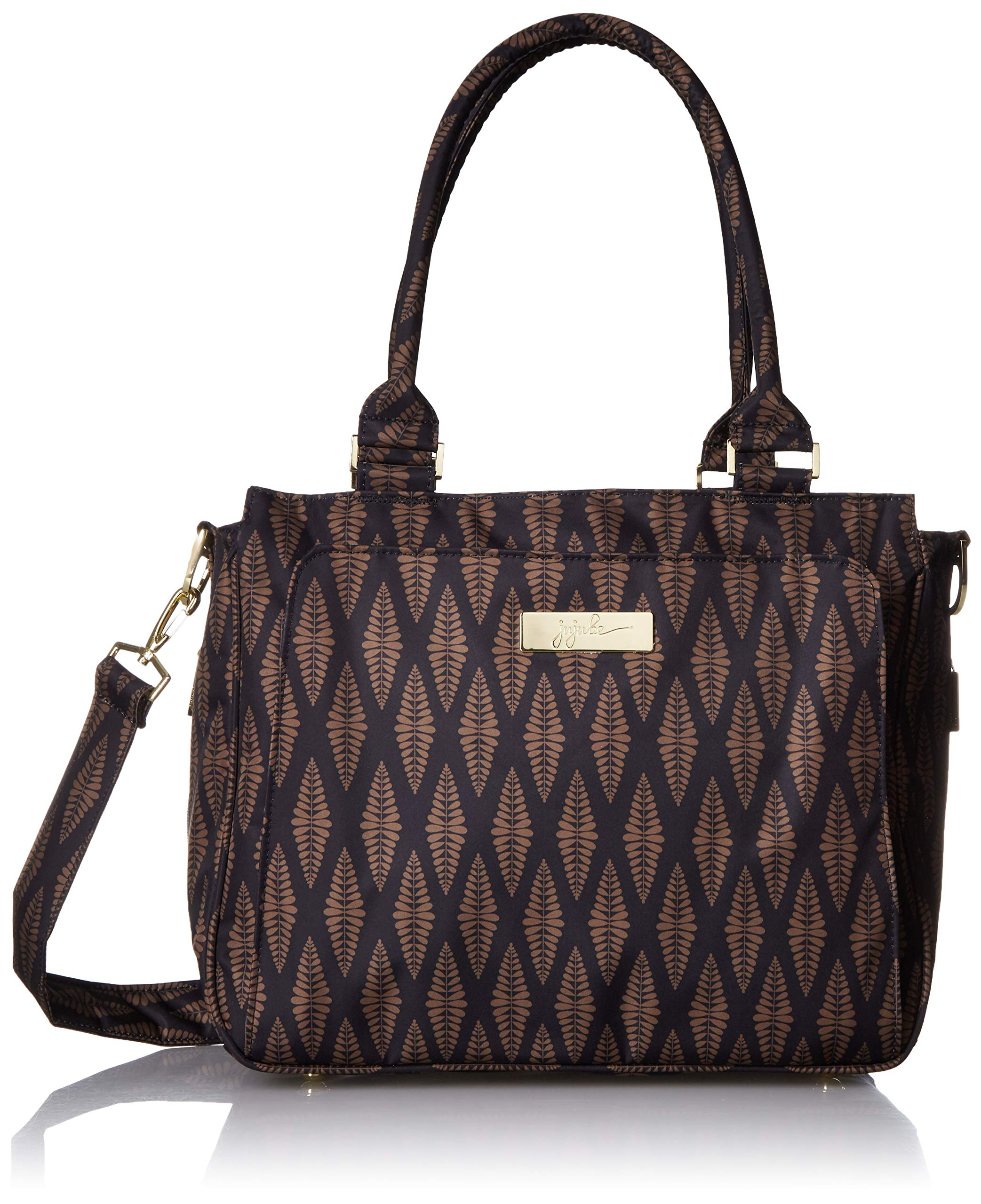 JuJuBe Be Classy Structured Multi-Functional Multi-Functional Diaper Bag/Purse, Legacy Collection - The Versailles