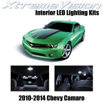 XtremeVision Interior LED for Chevy Camaro 2010-2014 (6 Pieces) Pure White Interior LED Kit + Installation Tool