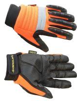Kevlar Knuckle Reflective Metacarpal Impact Safety Work Gloves - X-Large