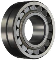 SKF 21320 E/C3 Spherical Radial Bearing, Straight Bore, Steel Cage, C3 Clearance, 100mm Bore, 215mm OD, 47mm Width